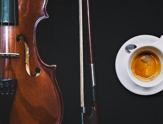 COFFEE IN MUSIC